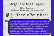 declutter and time management challenges
