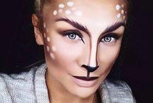 Ansiktsmaling/makeup