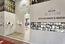 Acetum - Cibus / Act Events Allestimenti fieristici Exhibition stand display