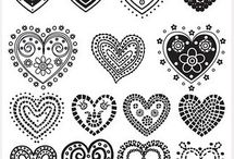 Henna-Muster