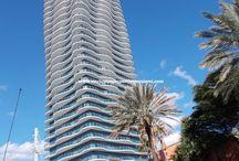 Sunny Isles Beach, FL / Photos of Condominiums along Collins Avenue in Sunny Isles Beach, FL
