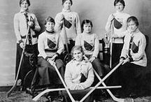 Womans historic hockey