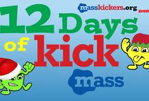 2015 12 Days of Kick mAss / Please help us educate the world about a proactive life after a tumor/cancer diagnosis during the 12 Days of Kick mAss. #201512DaysOfKickmAss http://www.masskickers.org/2015-12-days-of-kick-mass/