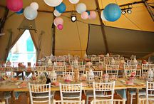 Tipi Weddings / Unusual wedding venues - tipi weddings!