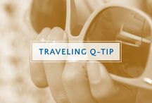 Traveling Q-tip / Travel the world with the ultimate on-the-go beauty essential. From makeup touch-ups to travel hacks, Q-tips are a must-have in your carry-on! / by Q-tips