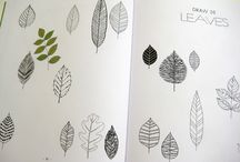 How to draw leaves / by Jo Angel