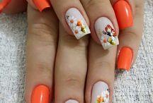 Uñas de flores