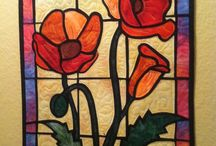 stained glass quilt / by Patty Hanssens