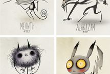 Tim Burton Artwork