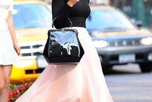 Faldas, vestidos...