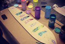 Flywood / Handmade sidewalk surfs