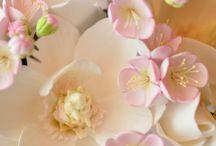 Цветы глина