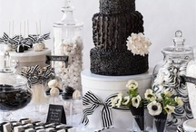 Monochrome wedding