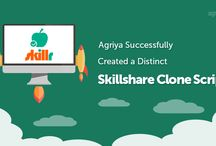 Agriya Skillr - Skillshare Ready-made Clone Script / Agriya's Skillshare clone script is helpful for the entrepreneurs to create an interesting online learning platform with exclusive features and modules
