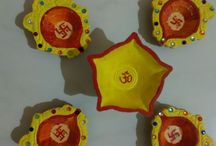 Happy Diwali /diya Decoration