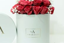 Amarante || Classic Bloom Box / Our timeless classic box collection, available in Ivory and Grey colours.