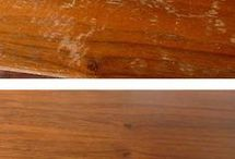 Vård av möbler, golv mm