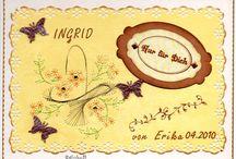 Freundes- und Poesieblätter von Erika