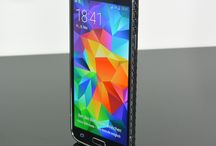 Samsung S5 Carbon Cover / Samsung S5 Carbon Cover, Real Carbon, weight: 10 g, thickness: < 0,4 mm