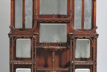 Victorian accessory cabinet