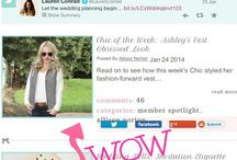 As Seen on Laurenconrad.com / Chic of the Week on the Lauren Conrad website!