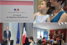 Baptêmes républicains au Consulat général de France à Bruxelles / Retrouvez les photos des baptêmes républicains célébrés au Consulat.