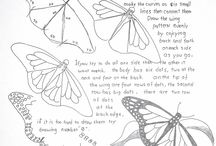 dibujos mariposas