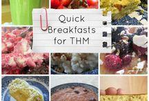 THM Breakfast Ideas