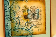 Cards/Handmade papercrafts / handmade cards, scrapbooking, paper techniques,papercrafts / by Chris Bak