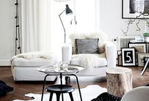 I love white ROOMS!
