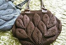 Leaf Post Stitch Bag