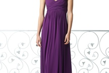 Purples with Dessy dresses
