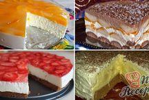 Nepečené torty