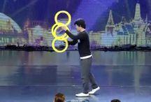 Juggling at Talent Shows / Juggling talents?