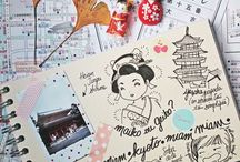 Manga travel diary