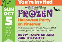 Frozen Halloween Pinterest Party / by Daniela Tapia