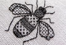 Black work Embroidery