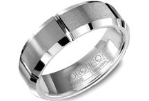 Tungsten Carbide Wedding Rings / Proudly made in Canada, CrownRing's tungsten bands pair strength and style to bring you a ring that will endure, no matter how hard you work or play.