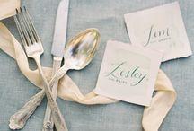 Soft Blue + Grey Wedding
