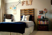 kids bedroom ideas / by Heidi Liebhaber