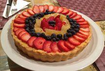 Custard tart / Fruit on top