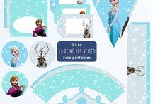 Anniversaire reine des neiges Frozen