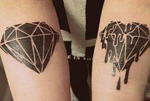 Tatto diamons