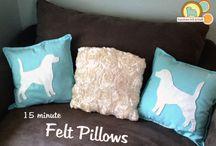 Pillows / by Priscila Kuhn