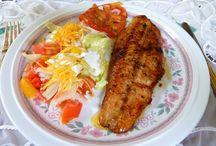fish in garlic butter sauce