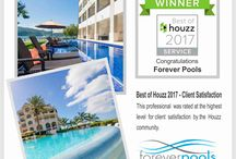 BEST OF HOUZZ 2017 / BEST OF HOUZZ 2017 - Client Satisfaction This professional  was rated at the highest level  for client   satisfaction  by the  Houzz community. www.foreverpools.com