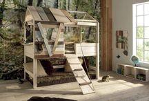PIĘTROWE ŁÓŻKA z dodatkami / zbiór inspiracji na temat spania piętrowo, dla wszystkich poszukujących rozwiązania w dobrym stylu do współczesnego pokoju dziecka...