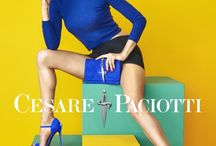 Alessandra Ambrosio in Cesare Paciotti's Spring Ads