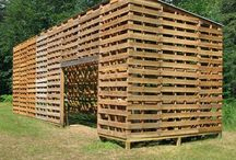 Pallets, pallets and more pallets