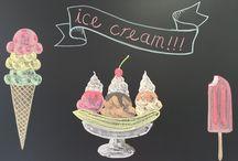Just Food Chalkboard Art